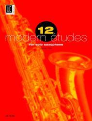 12 Modern Etudes For Solo Saxophone