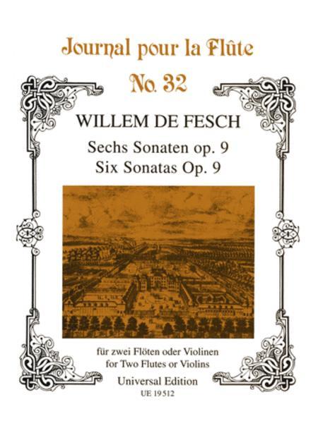 Sonatas, 6, Op.9, 2 Flutes(Vio