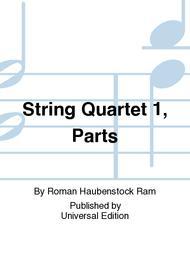String Quartet 1, Parts