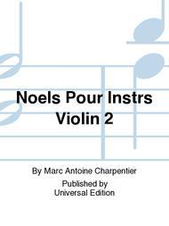 Noels Pour Instrs Violin 2