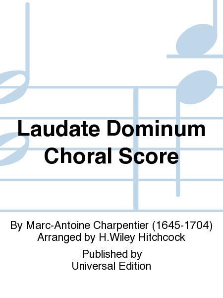 Laudate Dominum Choral Score
