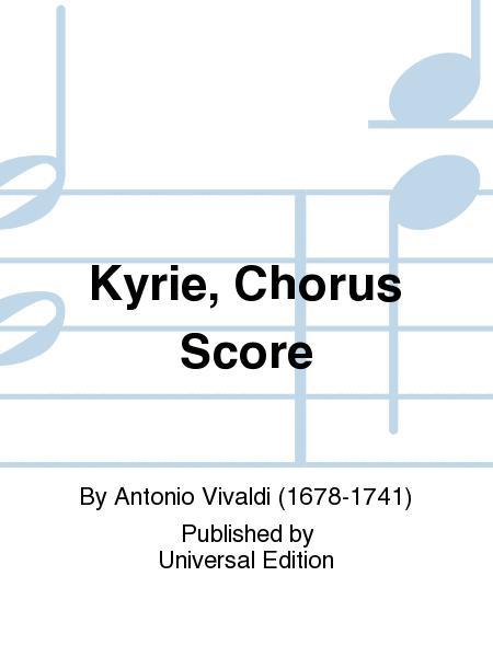 Kyrie, Chorus Score