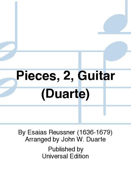 Pieces, 2, Guitar (Duarte)