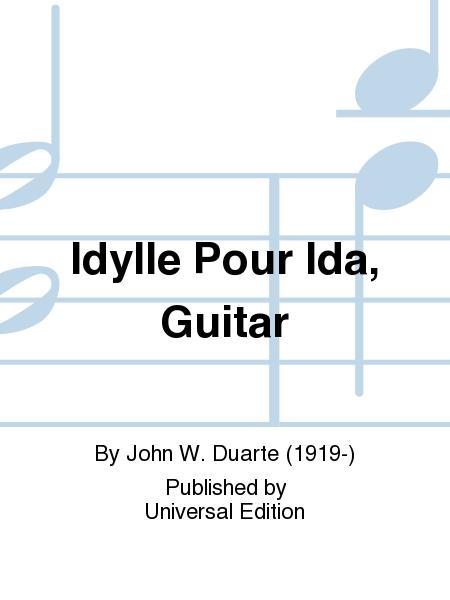 Idylle Pour Ida, Guitar