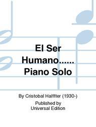 El Ser Humano...... Piano Solo