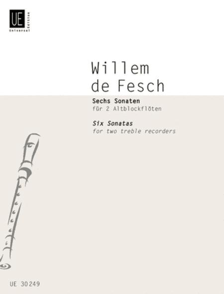 Sonatas, 6, Op. 9, 2 Treble Rc