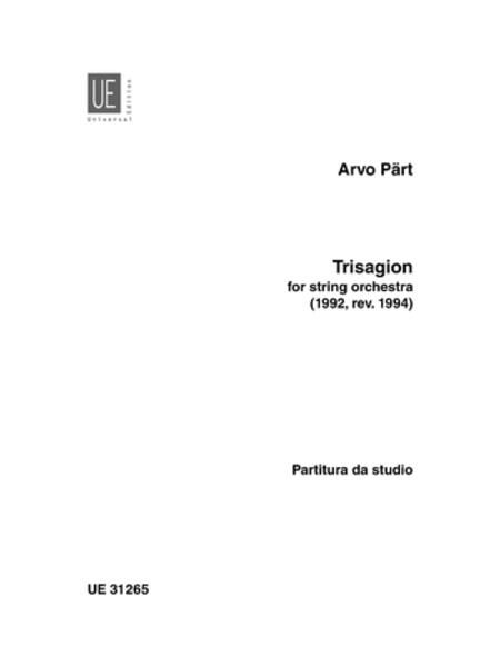 Trisagion, String Orch.,Study