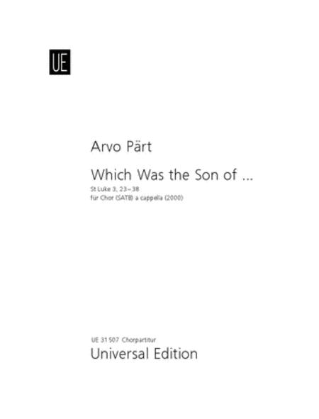 Which Was The Son Of ...