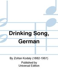 Drinking Song, German