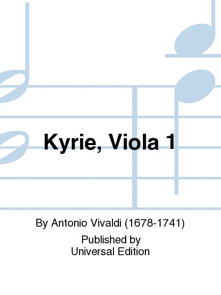 Kyrie, Viola 1