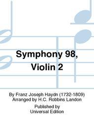 Symphony 98, Violin 2