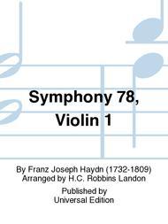 Symphony 78, Violin 1
