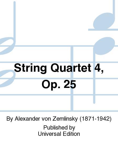 String Quartet 4, Op. 25