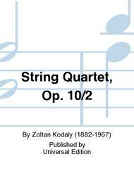 String Quartet, Op. 10/2