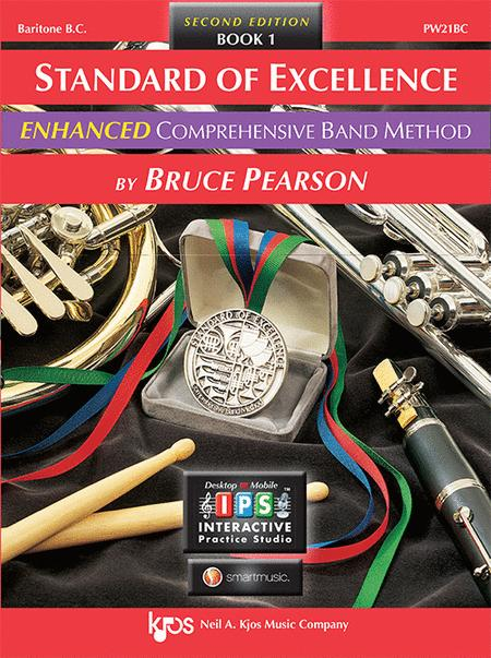 Standard of Excellence Enhanced Book 1, Baritone B.C.