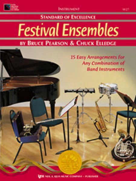 Standard of Excellence: Festival Ensembles-Alto Clarinet