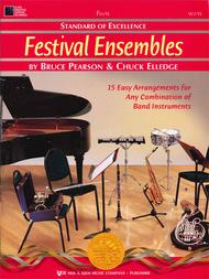 Standard of Excellence: Festival Ensembles-Flute