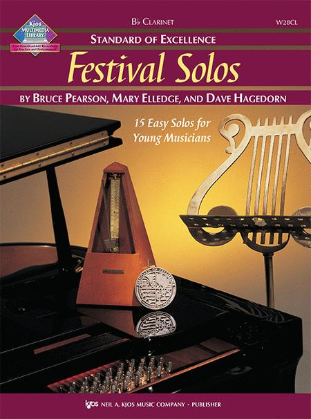 Standard of Excellence: Festival Solos - Clarinet