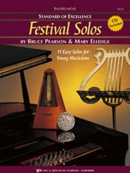 Standard of Excellence: Festival Solos - Tenor Sax