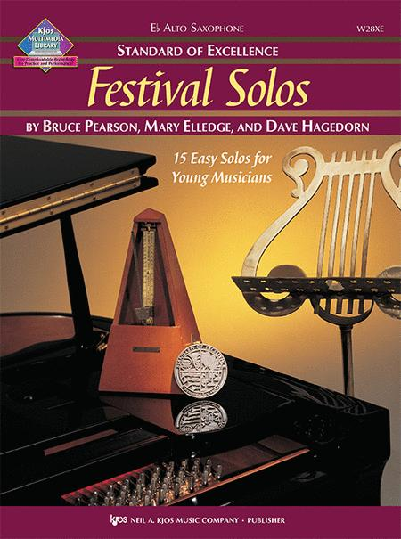 Standard of Excellence: Festival Solos - Alto Sax