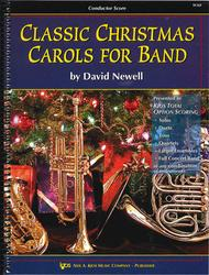 Classic Christmas Carols For Band - Score