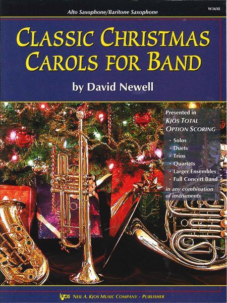 Classic Christmas Carols For Band - Alto Sax