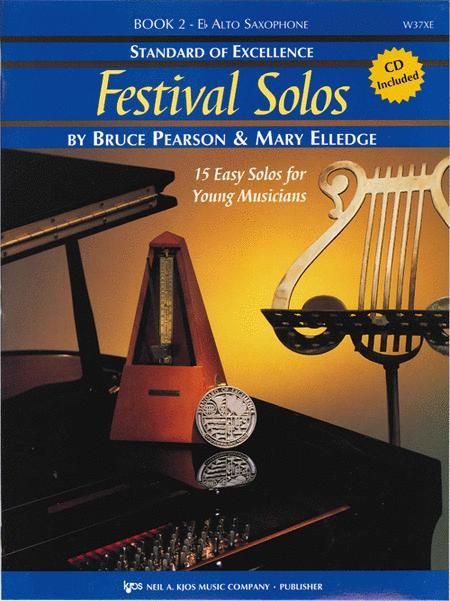Standard of Excellence: Festival Solos Book 2 - Alto Saxophone