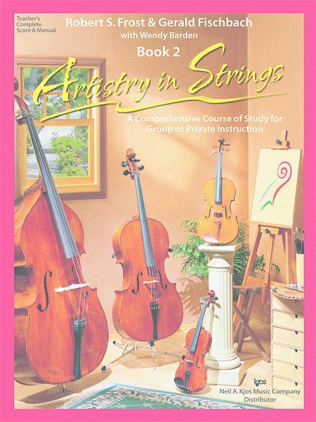 Artistry in Strings, Book 2 - Score