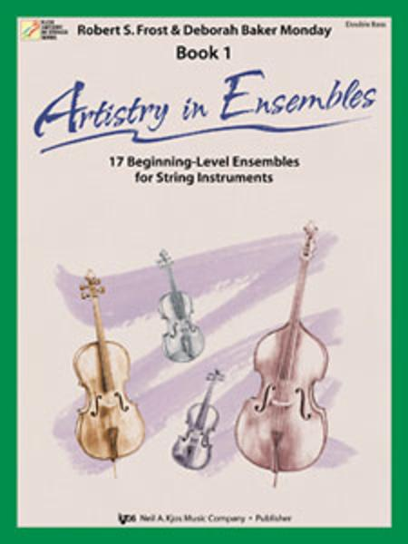 Artistry In Ensembles, Book 1 - String Bass