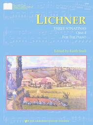 Lichner: Three Sonatinas, Opus 4