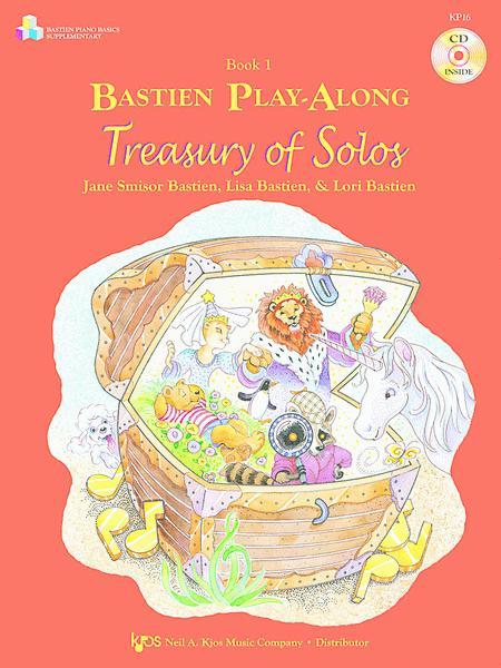 Bastien Play-Along, Treasury Of Solos, Book 1