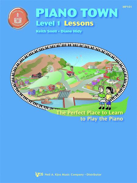 Piano Town, Lessons - Level 1