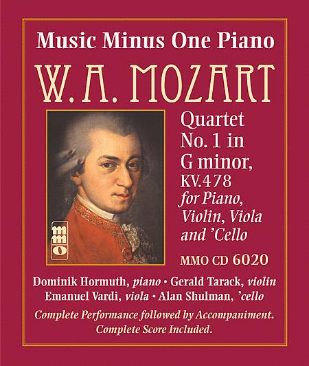 Mozart - Quartet No. 1 in G Minor, KV478