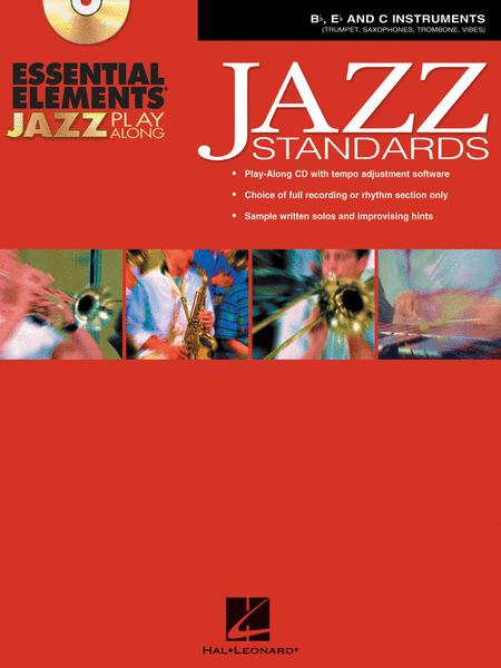 Essential Elements Jazz Play-Along - Jazz Standards (B-flat, E-flat and C Instruments)