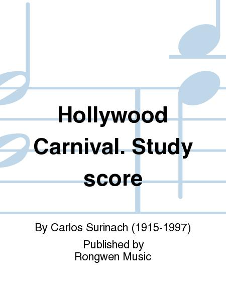 Hollywood Carnival (Sketches in Cartoon), study score CCSSS-RM 6