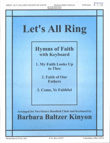 Let's All Ring Hymns Of Faith Sheet Music By Barbara Kinyon