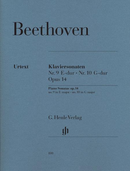 Sonata No. 9 in E op 14/1 & Sonata No. 10 op 14/2