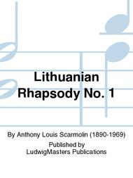 Lithuanian Rhapsody No. 1