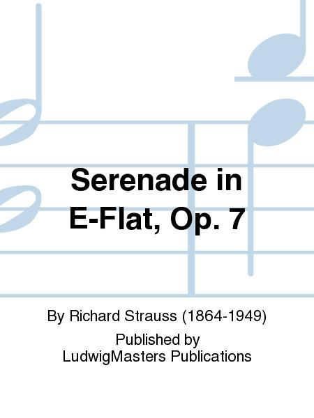Serenade in E-Flat, Op. 7