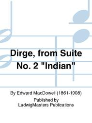 Dirge, from Suite No. 2