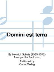 Domini est terra (Gottes ist der Erdkreis)