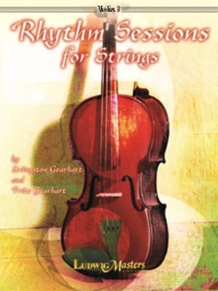 Rhythm Sessions for Strings - Violin 3 (T.C. Viola)