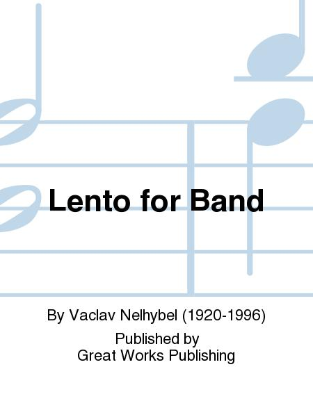 Lento for Band