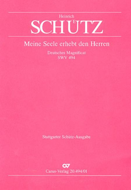Deutsches Magnificat (Decimi Toni). Meine Seele erhebt den Herrn