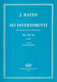 Six Divertimenti for Violin, Viola & Cello, Nos. 4-6