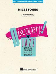 Milestones Sheet Music By Miles Davis - Sheet Music Plus