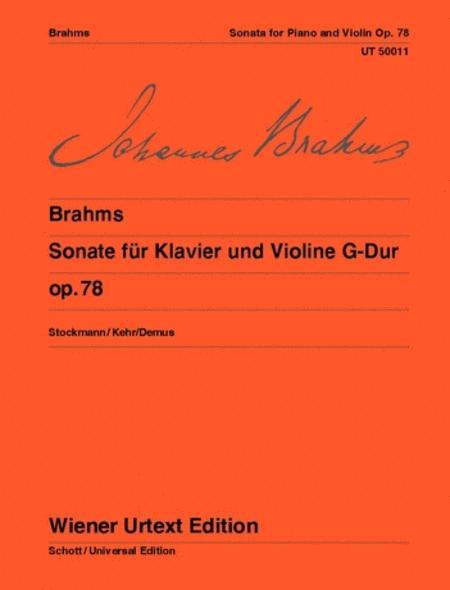 Sonata for Piano and Violin, G major, Op. 78