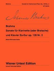 Sonata for Clarinet (or Viola) and piano, E flat major, Op. 120, no. 2