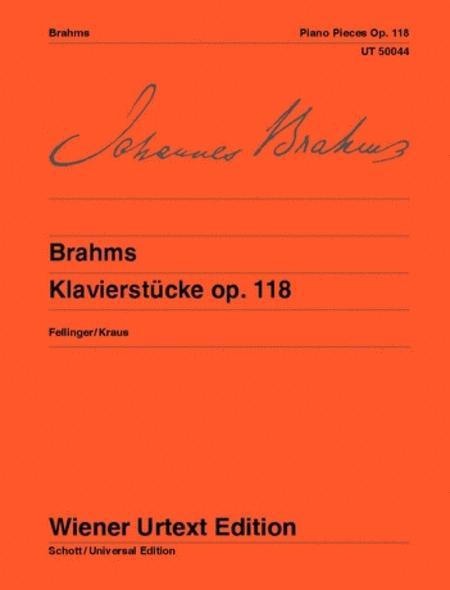 Piano Pieces, Op. 118