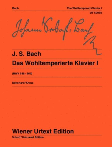 The Well-Tempered Clavier, Vol. 1
